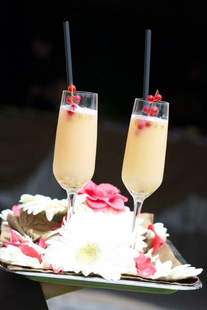 Cocktail aperitivo di frutta - Tenuta Villa dei Fiori