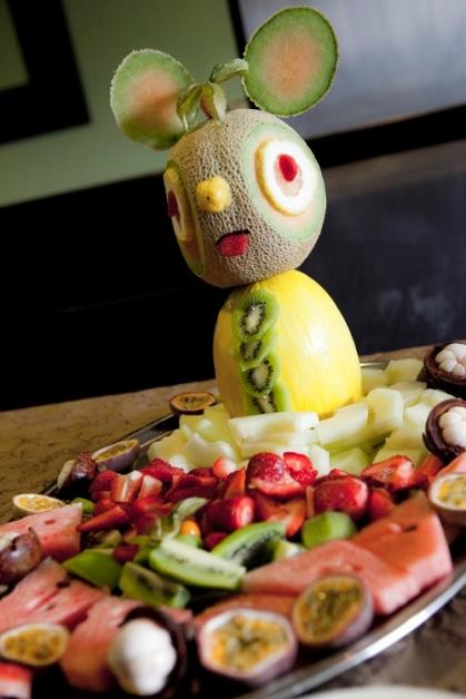 Dettaglio buffet di frutta - Tenuta Villa dei Fiori