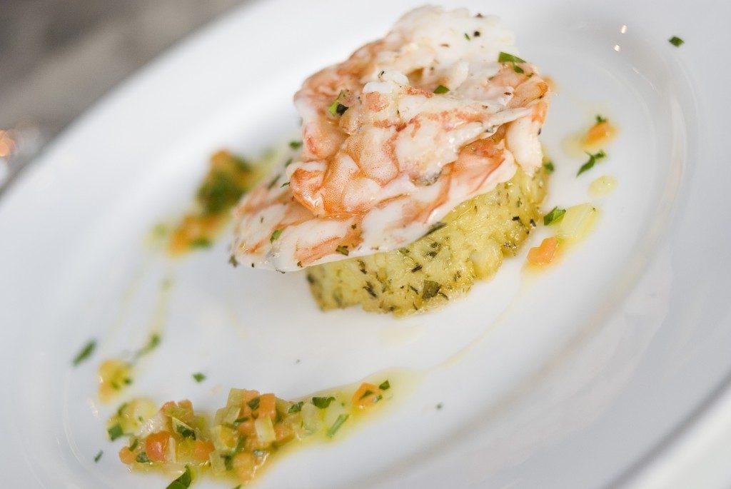 Dettaglio piatto pesce - Tenuta Villa dei Fiori
