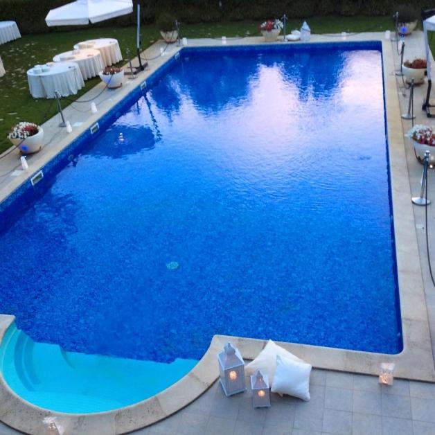 La piscina di Tenuta Villa dei Fiori